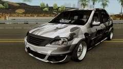 Dacia Logan Stance Military для GTA San Andreas