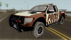 Ford F-150 Raptor 2016 Bone County Police для GTA San Andreas