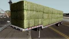 Alfalfa Bale Trailer для GTA San Andreas