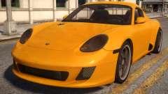 Ruf RK Coupe для GTA 4