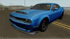 Dodge Challenger Demon 2017 для GTA San Andreas