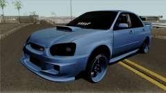 Subaru Impeza WRX STI для GTA San Andreas