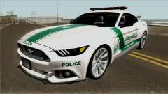 Ford Mustang GT 2015 Dubai Police RedBull Dubai для GTA San Andreas