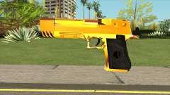 Gold Deagle Luxury для GTA San Andreas