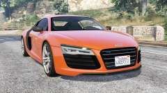 Audi R8 V10 Plus 2016 v1.1 [replace] для GTA 5