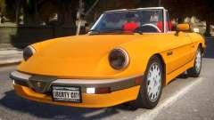 1986 Alfa Romeo Spider 115 v1.0 для GTA 4