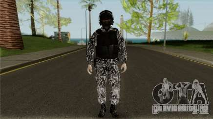 Сотрудник СОБР для GTA San Andreas