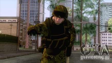 Denmark Army Skin для GTA San Andreas
