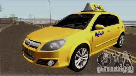 Opel Astra Taxi для GTA San Andreas