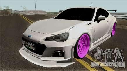 Subaru BRZ 2013 White для GTA San Andreas