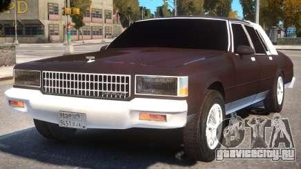 1985 Chevrolet Caprice для GTA 4