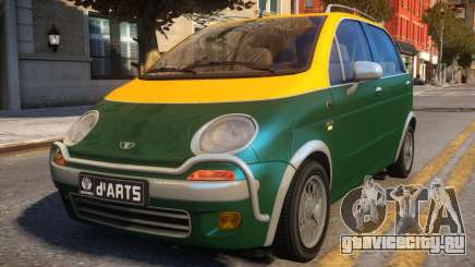 1997 Daewoo dArts City Concept для GTA 4