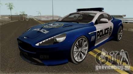 Aston Martin Virage 2011 FCPD для GTA San Andreas
