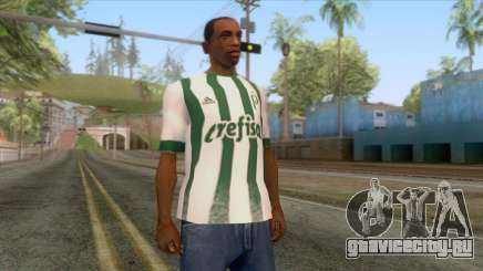 Palmeiras - Away T-Shirt для GTA San Andreas