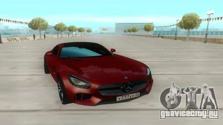 Mercedes-Benz GTS для GTA San Andreas