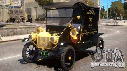 Ford T 12 Police Wagon для GTA 4