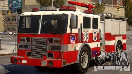 Fire Truck Real New York для GTA 4