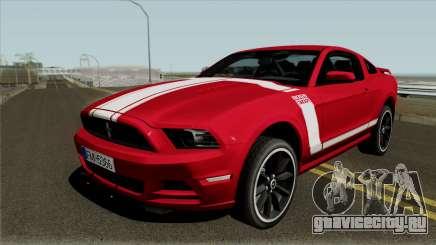 Ford Mustang Boss 302 EU Plates для GTA San Andreas