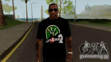 Футболка Let 4 Dead 2 для GTA San Andreas