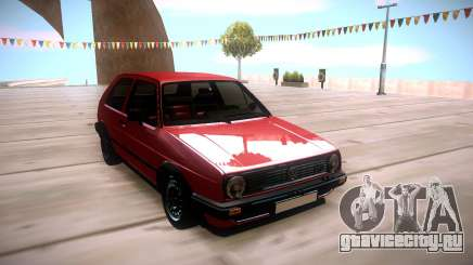 Volkswagen Golf 2 Red для GTA San Andreas
