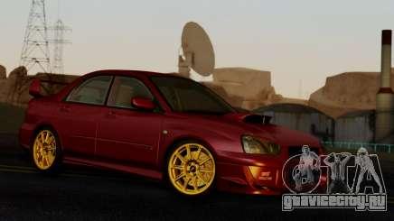 Subaru Impreza WRX STI 2004 Stock для GTA San Andreas