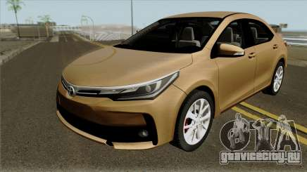Toyota Corolla 2017 without plates для GTA San Andreas