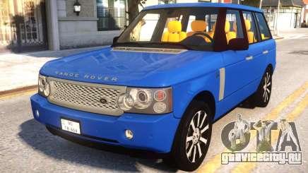Range Rover 2009 для GTA 4