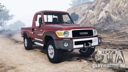 Toyota Land Cruiser 70 pickup v1.1 [replace] для GTA 5