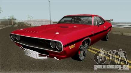 Dodge Challenger RT 1970 для GTA San Andreas