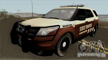 Ford Explorer 2012 Bone County Police для GTA San Andreas