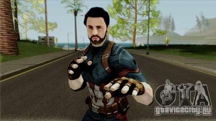 Avengers Infinity War - Captain America (Nomad) для GTA San Andreas
