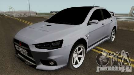 Mitsubishi Lancer Evolution X Light Tuning для GTA San Andreas