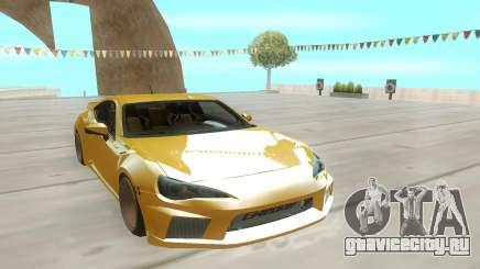 Toyota GT86 Stock для GTA San Andreas