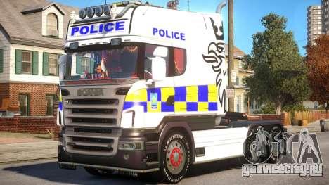 Scania R580 Longline Custom PJ11 для GTA 4