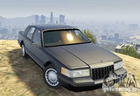 Lincoln TownCar 1991 для GTA 5