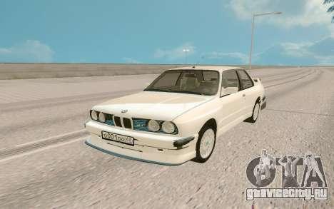 BMW M5 E30 Tuning для GTA San Andreas