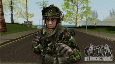 Bulgarian Land Forces (Army) для GTA San Andreas