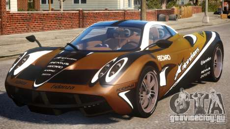Pagani Huayra Alpinestars для GTA 4