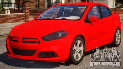 Dodge Dart Red для GTA 4