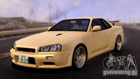 Nissan Skyline R34 GT-R Classic для GTA San Andreas