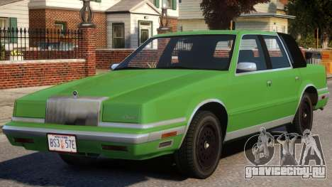 1988 Chrysler New Yorker Stock для GTA 4
