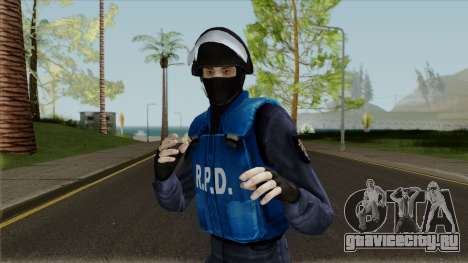 Raccoon City SWAT для GTA San Andreas
