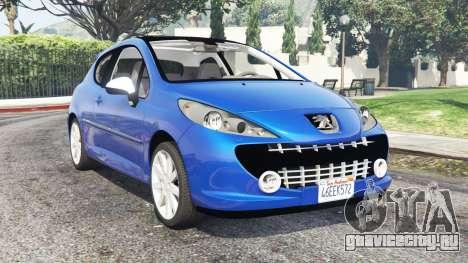 Peugeot 207 RC 2007 v0.3 [add-on] для GTA 5