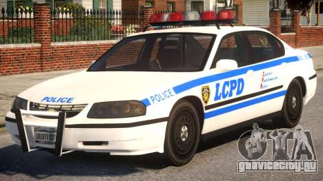 2003 Chevrolet Impala LCPD для GTA 4