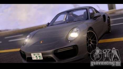Porsche 911 Turbo S Grey Color для GTA San Andreas