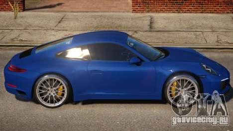 Porsche Carrera 4S v1.05 для GTA 4