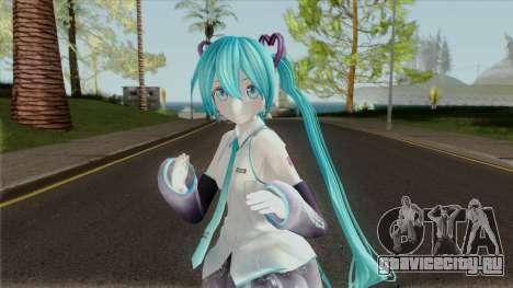 Miku Hatsune GX (Vocaloid) для GTA San Andreas