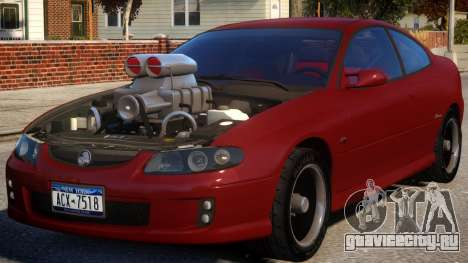 Holden Monaro Supercharged для GTA 4
