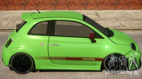 Fiat Abarth 500 для GTA 4