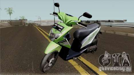 Honda BeAT FI Green STD для GTA San Andreas